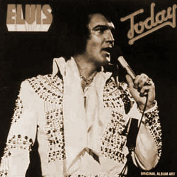 Cover of 1992 Elvis Today CD