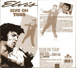 Elvis On Tour VHS box, 1988