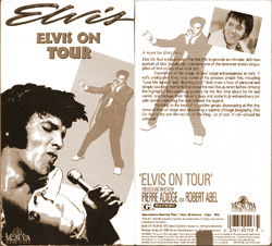 Elvis On Tour VHS box, 1988