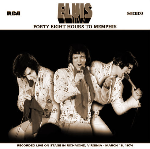 48 Hours To Memphis (concept cover art)