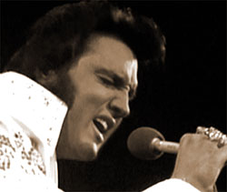 Elvis rocks the world, 1973