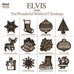 Elvis Sings The Wonderful World Of Christmas album cover