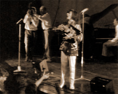 On Stage Giveaway At Elvis Convention,  Luxembourg, 1970