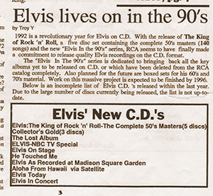 The Elvis Beat #2, excerpt from page 3