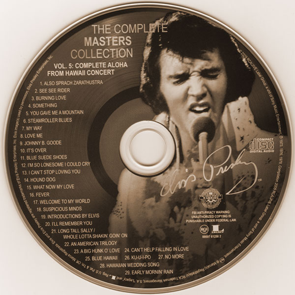 Elvis: The Complete Masters Collection - Volume 5