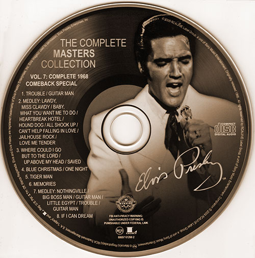 Elvis: The Complete Masters Collection - Volume 7