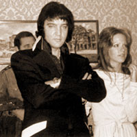 Elvis with Sheila Ryan