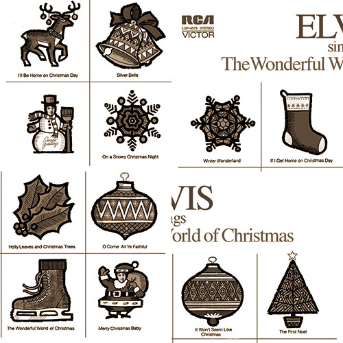 Elvis Scrambles The Wonderful World Of Christmas