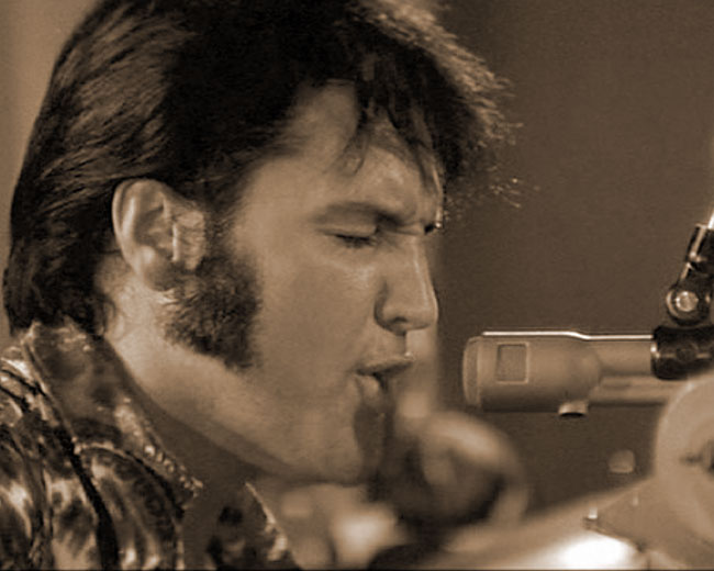 Elvis Presley in 1970