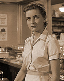 Dolores Hart as Nellie in King Creole