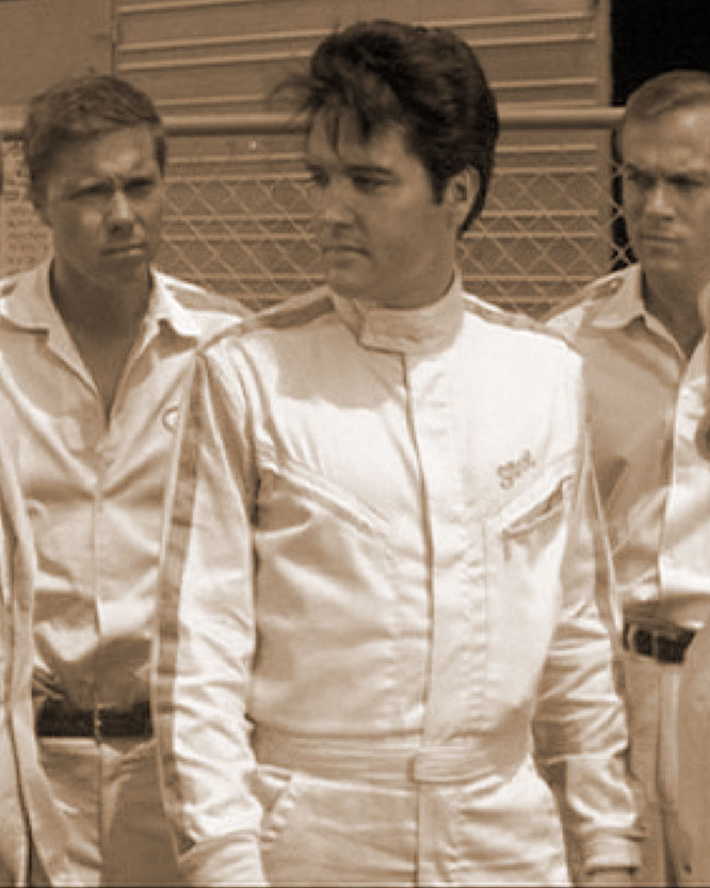 Elvis Presley is Steve Grayson in SPEEDWAY (1968)