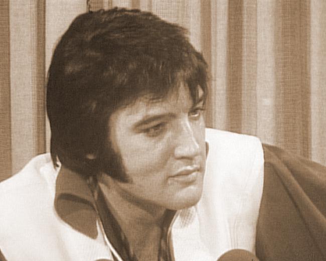 Elvis at the Houston Astrodome, 1970