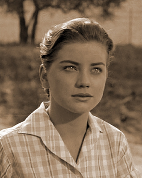 Dolores Hart in LOVING YOU