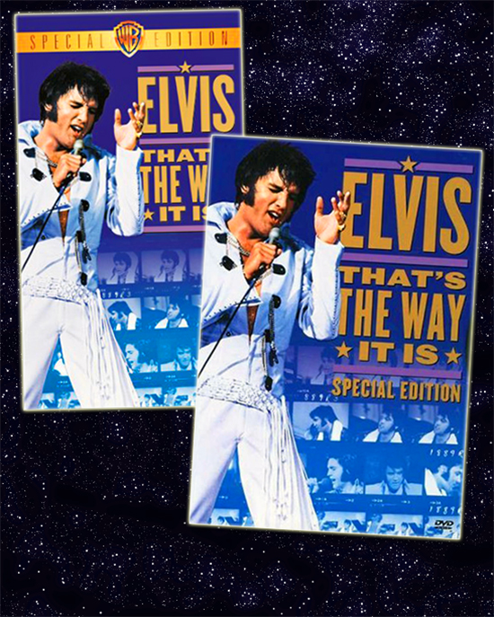 2001 VHS and DVD editions of THAT'S THE WAY IT IS: SPECIAL EDITION
