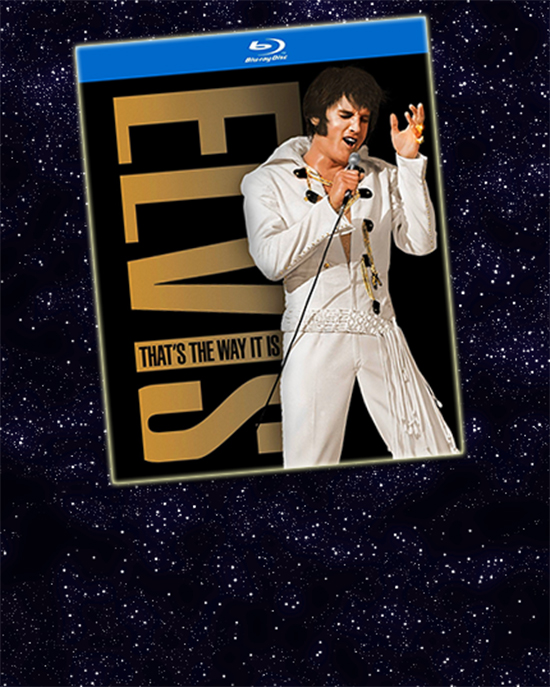 2014 Blu-ray edition of THAT'S THE WAY IT IS: SPECIAL EDITION