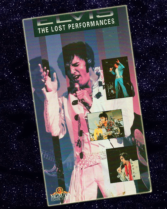 THE LOST PERFORMANCES home video cover (1992)