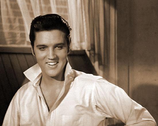 Elvis Presley is Deke Rivers in LOVING YOU (1957)