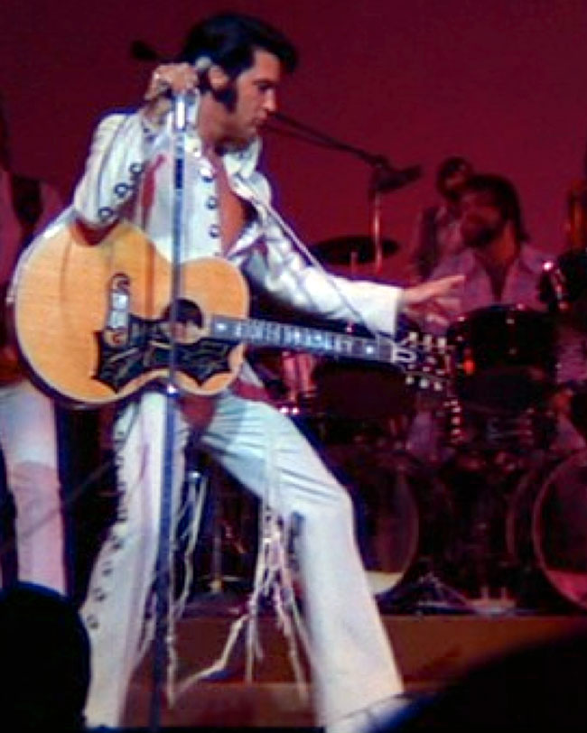 Elvis in THAT'S THE WAY IT IS: SPECIAL EDITION
