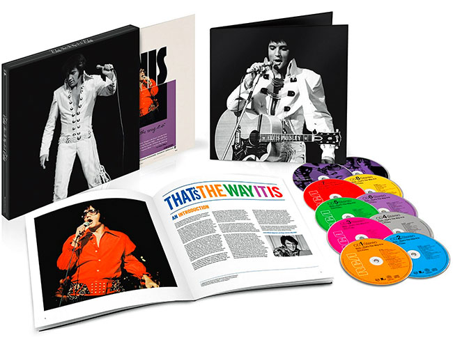 10-disc ELVIS: THAT'S THE WAY IT IS – DELUXE EDITION (2014)