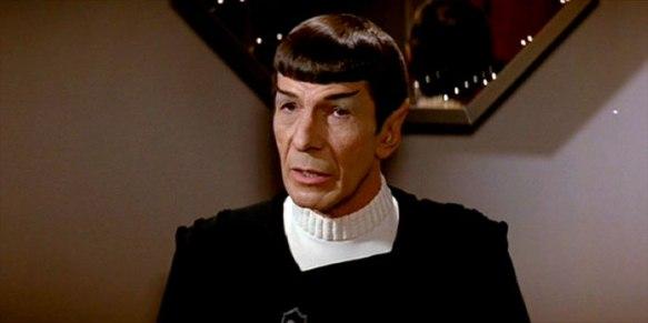 Leonard Nimoy as Captain Spock in STAR TREK II: THE WRATH OF KHAN (1982)