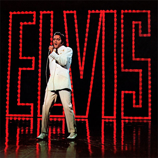 Cover of ELVIS-TV SPECIAL (1968 album)