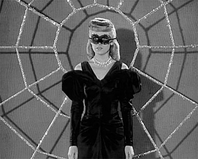 Carol Forman is the Spider Lady in SUPERMAN (1948)