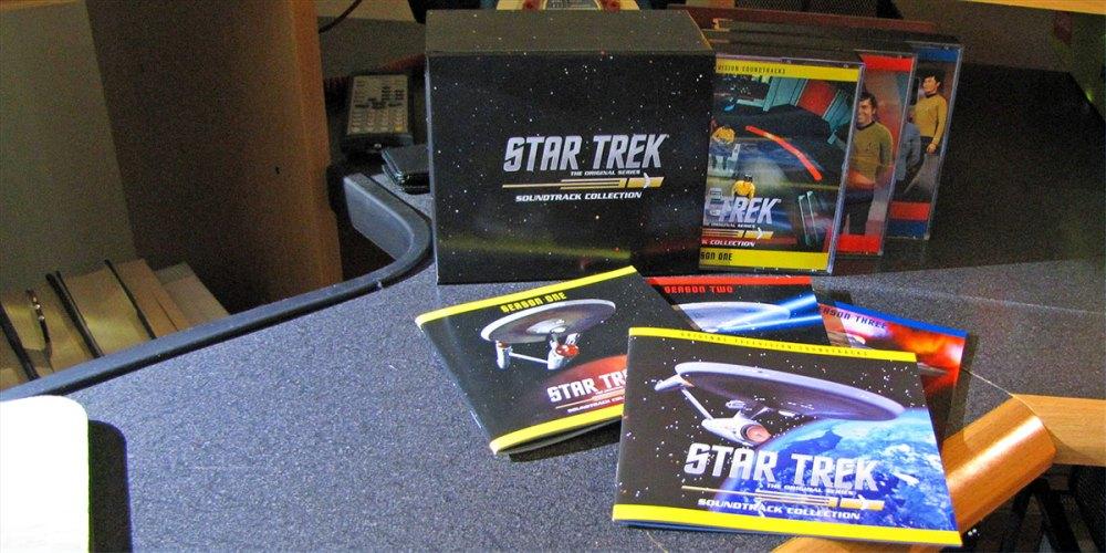 STAR TREK: THE ORIGINAL SERIES SOUNDTRACK COLLECTION (La-La Land Records, 2012)