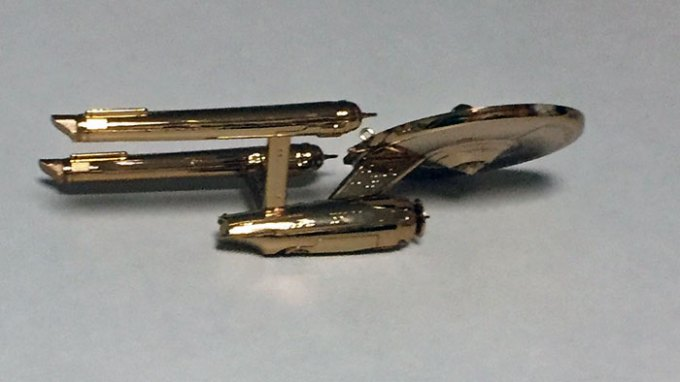 "USS ""Enterprise"" 2016 Hallmark ornament"