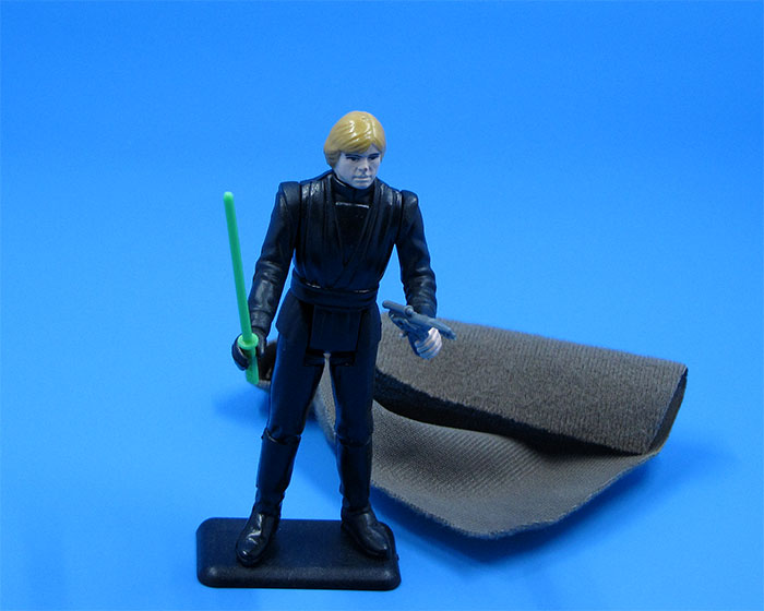 Luke Skywalker (Jedi Knight Outfit), Kenner, 1983. (From the author's collection.)