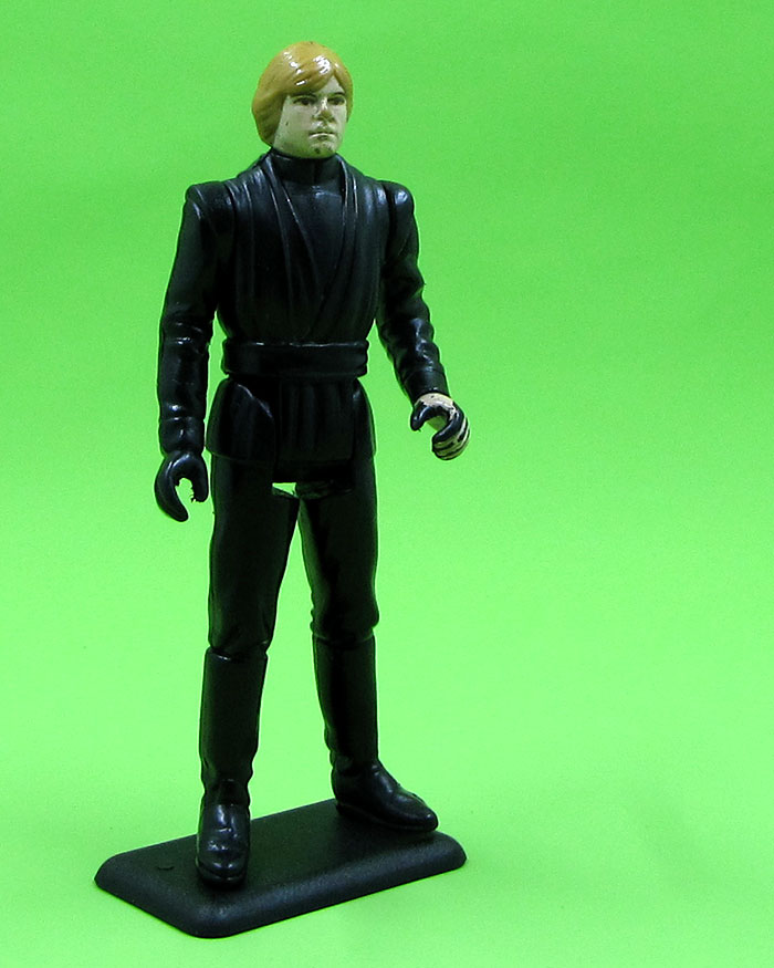 My favorite action figure of all time, Luke Skywalker, Jedi Knight, was recently rescued and returned to my collection.