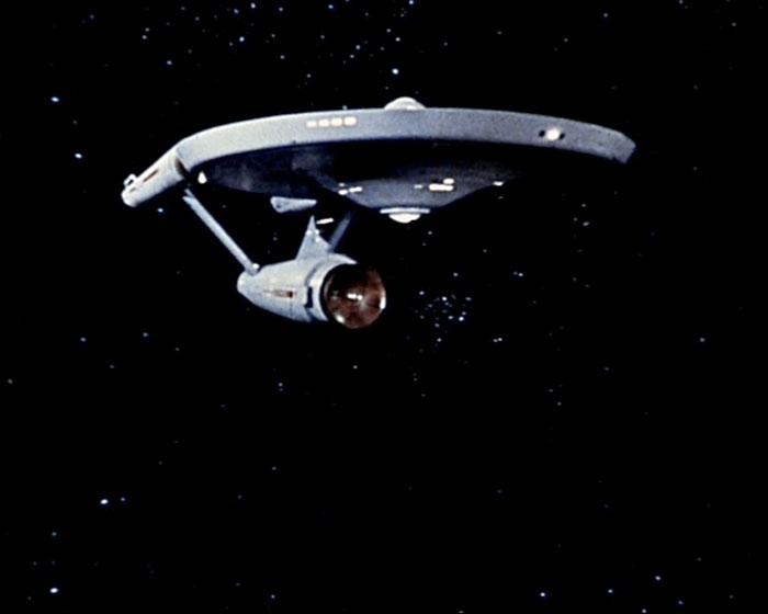 """The USS """"Enterprise"""" (NCC-1701)"""