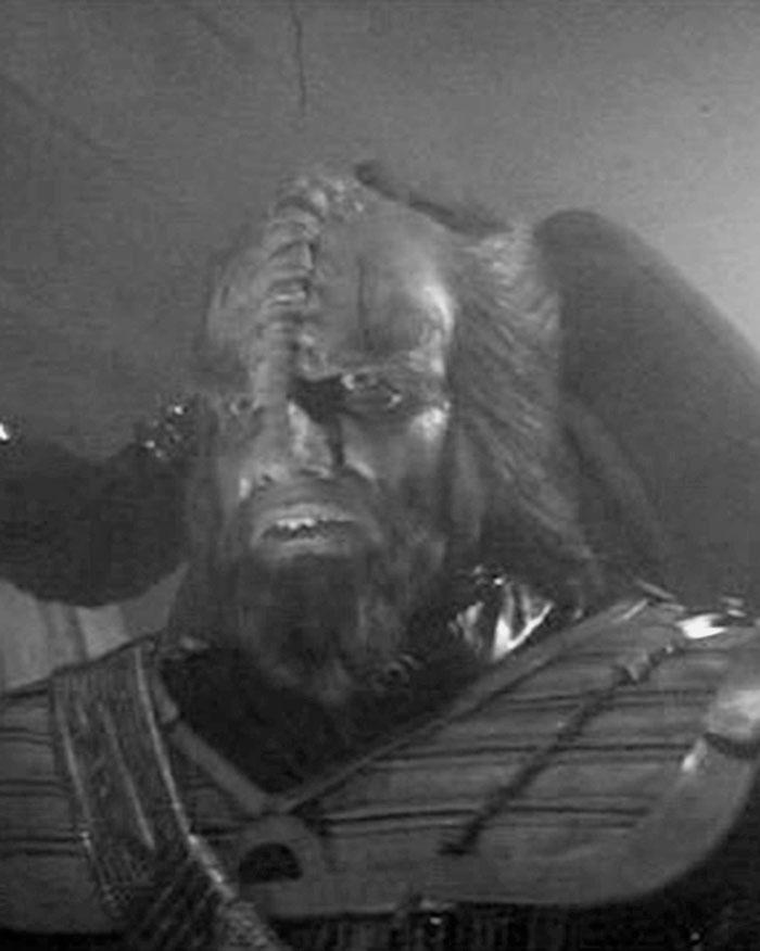 Mark Lenard as a Klingon captain in 1979's STAR TREK: THE MOTION PICTURE