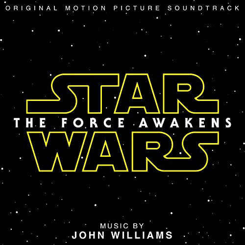 Cover of STAR WARS: THE FORCE AWAKENS soundtrack