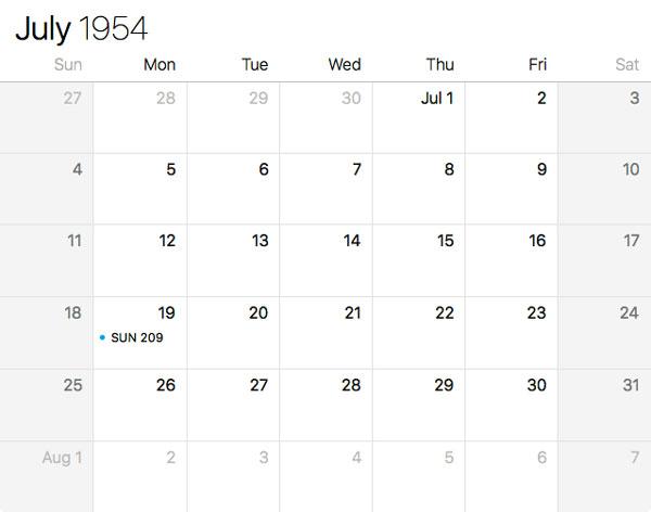 July 19, 1954