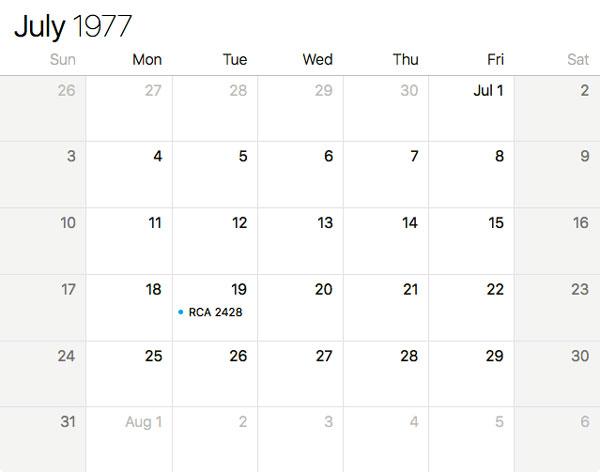 July 19, 1977