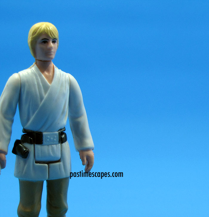 """But I was going into Tosche Station to pick up some power converters!"" Luke Skywalker, Kenner, 1977. (From the author's collection.)"