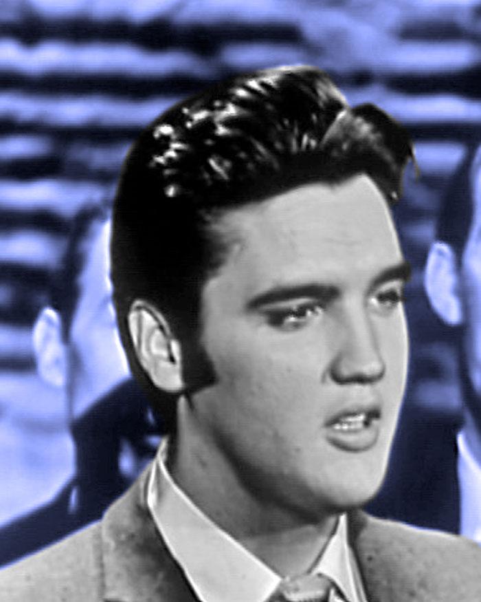 Elvis Presley in 1956