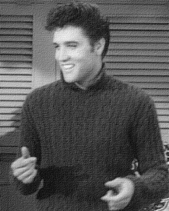 Elvis Presley in 1957