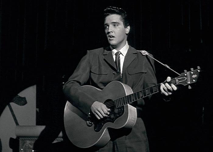 Elvis Presley in 1958