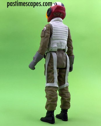 Hasbro's Star Wars Resistance Pilot Tallie figure (2017), back view