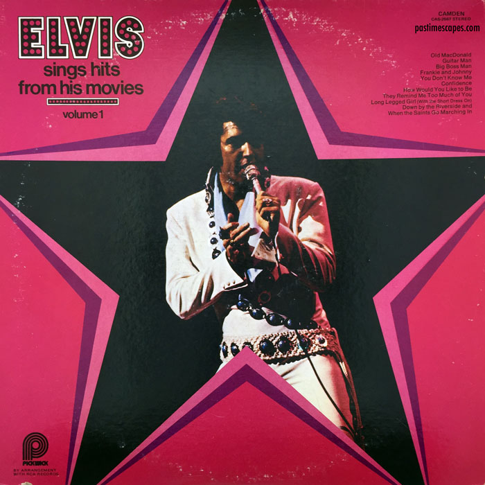 ELVIS SINGS HITS FROM HIS MOVIES, VOLUME 1 (Pickwick, 1975/1980) [Photo by the author]